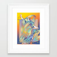 justice Framed Art Prints featuring Justice by David Chestnutt
