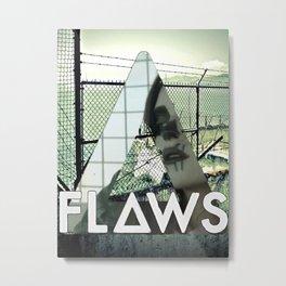 Bastille - Flaws Metal Print