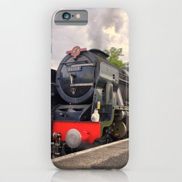 Royal Scot and Britannia at Exeter St Davids  iPhone Case