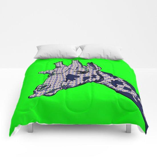 Argyle Giraffe  Comforters