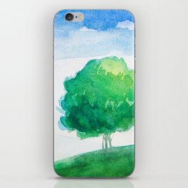 Mountain scenery 4 iPhone Skin