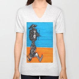 escaping the web Unisex V-Neck
