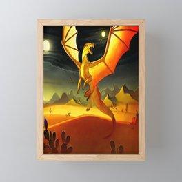 Wings of Fire Night Framed Mini Art Print