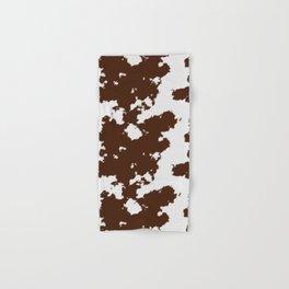 Realistic cow hide pattern Hand & Bath Towel