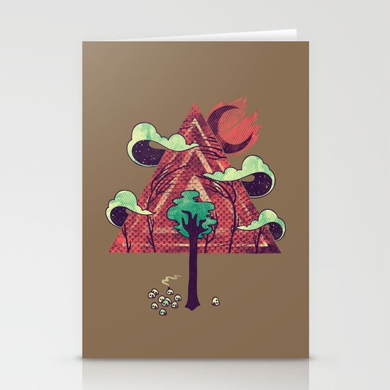 The Evergreen Stationery Cards