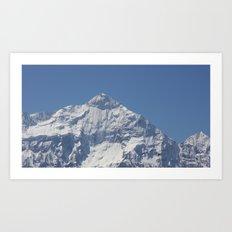 Nilgiri Blue Art Print