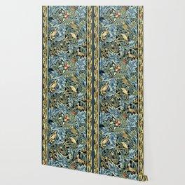 """William Morris """"Birds and Acanthus"""" Wallpaper"""