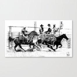Taylorsville Rodeo Canvas Print