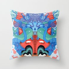 Where is my mind Throw Pillow