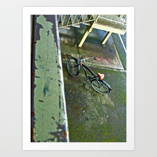 Motel view Art Print