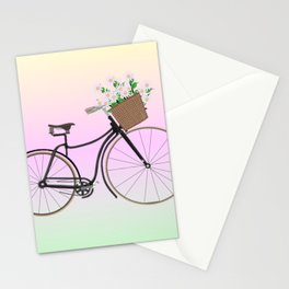 Bicycle Daisies Stationery Cards