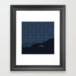 Flight of the Accordions Framed Art Print