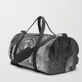 A derelict churh in Northern Cyprus Duffle Bag