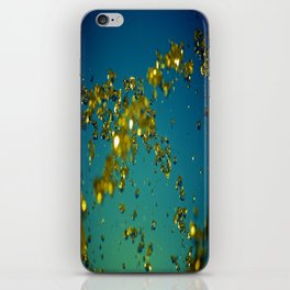 Drops of imagination iPhone Skin