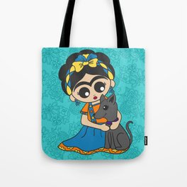 Little Dog Friend Tote Bag