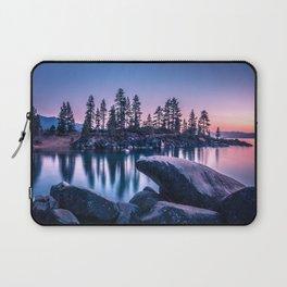lake tahoe sand harbor at sunset Laptop Sleeve