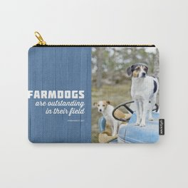 Outstanding Farmdogs Carry-All Pouch
