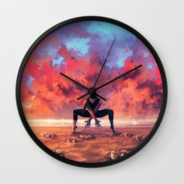 CANCER from the Dancing Zodiac Wall Clock
