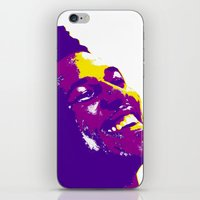 lakers iPhone & iPod Skins featuring Swaggy by SUNNY Design