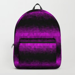 Pink and Black Backpack