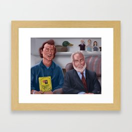 What About Bob Digital Painting Framed Art Print