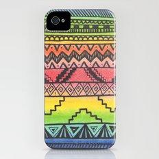 Tribal #3 iPhone (4, 4s) Slim Case