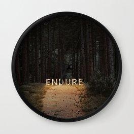endure. Wall Clock