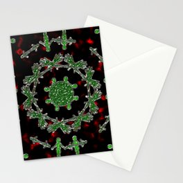 Extraterrestrial Mandala Stationery Cards