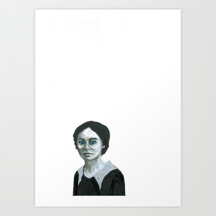 Les disparus 11 Art Print