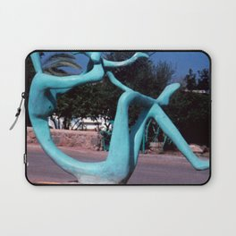 Mother & child by Shimon Drory Laptop Sleeve