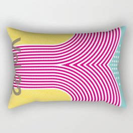 flower artwork Rectangular Pillow