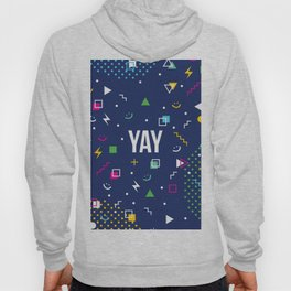 YAY Crazy + Colourful Hoody