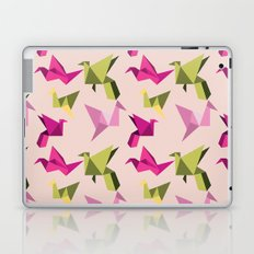 pink paper cranes Laptop & iPad Skin