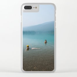 Kind Strangers in Banff Clear iPhone Case