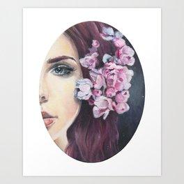 Celestial Mermaid Art Print