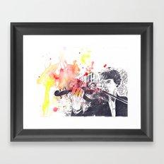 Benedict Cumberbatch As Sherlock Holmes Framed Art Print