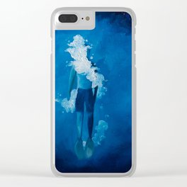 Sinking Dreams Clear iPhone Case
