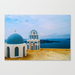 Church with a view Canvas Print