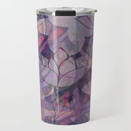 layered lotus Travel Mug