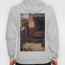The Flower Market 1868 by Sir Lawrence Alma Tadema   Reproduction Hoody