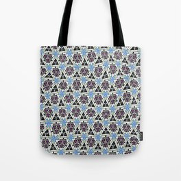 Distorted triangular shapes Tote Bag