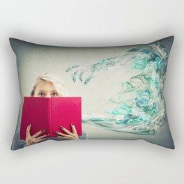 scary story Rectangular Pillow