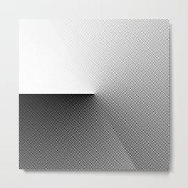 B&W 001 Metal Print