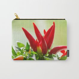 Chili peppers on the vine Carry-All Pouch