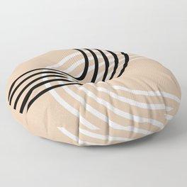 Counterbalance - neutrals Floor Pillow