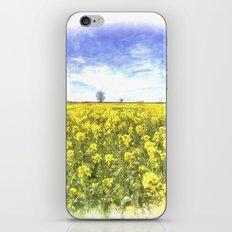 Summer Farm Trees Art iPhone & iPod Skin