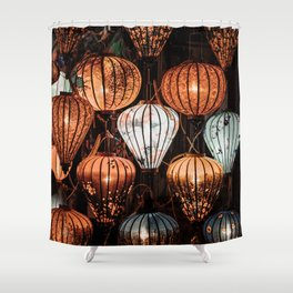 All of the Lights Shower Curtain