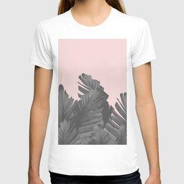 Blush Banana Leaves Dream #4 #tropical #decor #art #society6 T-shirt