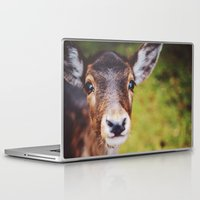 bambi Laptop & iPad Skins featuring Bambi by Bildersommer