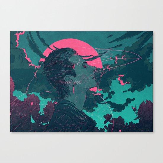 Fylgja Canvas Print